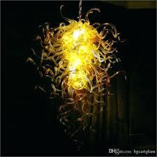 china supplier hand blown glass chandeliers lightings flower hand blown glass pendant lights hand blown glass