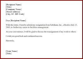 16 Template Resignation Letter Sendletters Info