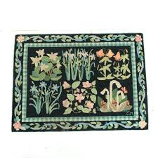 vintage hand hooked area rug claire murray rugs kits