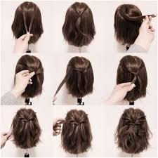 Coiffure Pour Un Baptême Cheveux Mi Long