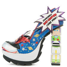 Toy Story Arch Enemies Light Up Heels Toy Story X Irregular Choice Womens Arch Enemies High Heels