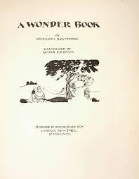 arthur ilrator nathaniel hawthorne a wonder book 2
