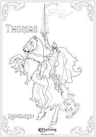 Thomas Van Raveleijn Efteling Kleurplaat Coloring Pages To Print