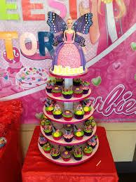 Barbie Cake And Cupcakes Decobake Customized Cakes Manila
