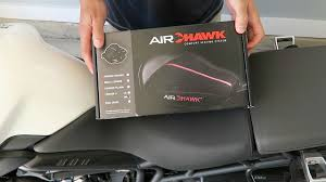 Airhawk Motorcycle Seat Cushion Fit Chart New Air Hawk Motorcycle Seat Cushion Review And Install