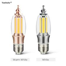 Bright White Light Bulbs Us 6 9 12 Off Tanbaby E27 Base Cob Led Corn Bulb 7w Pagoda Shape Super Bright White Warm White Lamp Indoor Home Luminous Lights In Led Bulbs Tubes