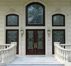 glass doors entry ways beveled leaded glass