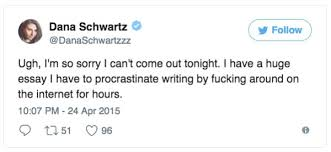 the prefect tweets to procrastinate thechive tweets about procrastination to help you procrastinate your monday away 22 photos 221 tweets about procrastination