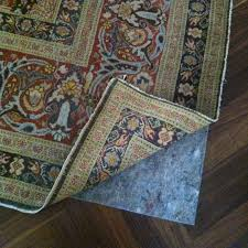 rug padding protecting as well as maintaining an area rug