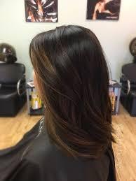 Balayage For Dark Hair Brown Highlights