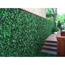 w artificial ivy fence panel