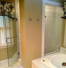 Shower Door Handle & Towel Bar thru Glass / Richmond Va - Virginia ...