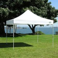 White 10x10 Canopy