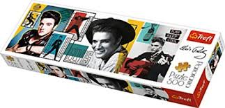 Trefl Panorama <b>Elvis Presley</b> Jigsaw Puzzle, 500-Piece, 29510 ...