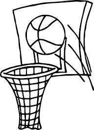 Small Picture Ball Shot Playing Basketball Coloring Page Wecoloringpage