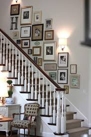 staircase wall decorating ideas eclectic-staircase