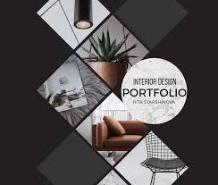 Interior Design Portfolio Ideas rita starshinova portfolio portfolio coversportfolio designportfolio ideasportfolio samplesresume designinterior