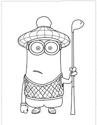 Golf Coloring Sheets Google Search Happy Family Golf Month