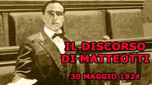 IL DISCORSO DI MATTEOTTI - YouTube