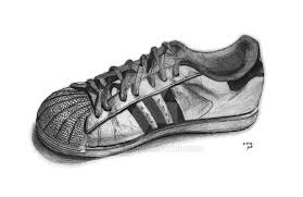 adidas shoes drawing. adidas superstar by hans11 shoes drawing -