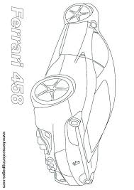 Ferrari 458 Sports Car Coloring Page Backyard Pinterest Cars