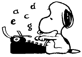 Snoopy Typing | Snoopy And Friends Board #237313 - PNG Images - PNGio