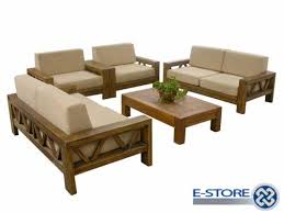 Wooden Sofa Set Simple Design Details Bic Furniture India