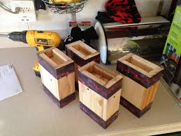 wooden bed risers for a boys bed with odd shaped (3