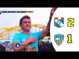 Sporting Cristal Vs Sport Rosario 2-1