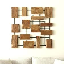 wood chevron wall art modern wood wall art teak wall art crate and barrel 6 in