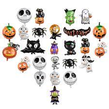 <b>Halloween</b> Spider Bat Ghost Pumpkin Skeleton Foil <b>Balloon Festival</b> ...