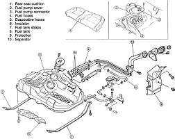 3 exploded view of the mx 3 fuel tank assembly