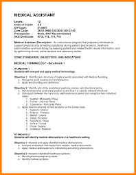 Resumesume For Medical Assistant Objective Sample With No Experience