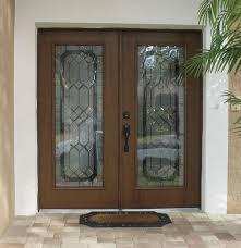 decorative glass door inserts for double front doors