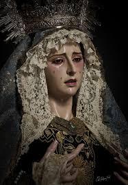 Ntra. Sra. del Amparo. Jerez de la Frontera.   Our lady of sorrows ...