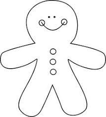 gingerbread man clipart black and white. Modren Black Gingerbread Man Black And White Clipart 1 On E