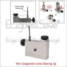 ecigarette coil jig