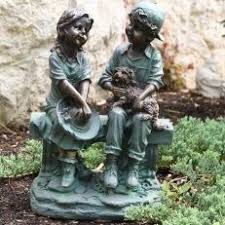 children garden statues. Beautiful Outdoor Children Garden Statues