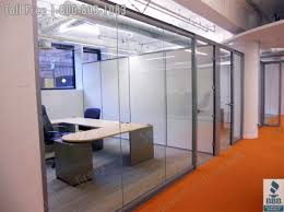 glass wall office. Glass Offices With Framed Swing Doors, Locking Wall Office