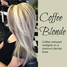 Coffee Blonde Hair Color Idea Coffee