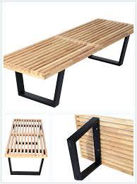 george nelson bench. George Nelson Slat Bench Mlfar Platform 3 Sizes Only 169 Of 4