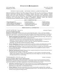 Sample Office Manager Resume Best of Office Manager Resume Samples Executive Office Manager Resume Free