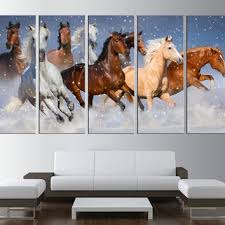 horses canvas print wall art horses wall art horses running wa on wall art pictures of horses with shop running horse art on wanelo