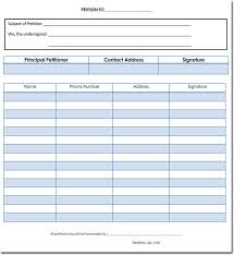 Template For Petition Petition Templates Create Your Own Petition With 20 Templates