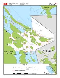 Area 18 Saltspring Pender Mayne And Saturna Islands And