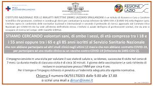 Vaccino Covid - INMI Lazzaro Spallanzani