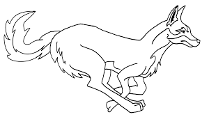 Small Picture Coyote Coloring Page 3415