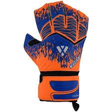 Vizari Size Chart Vizari Osuna Finger Protect Goalkeeper Glove Orange Blue