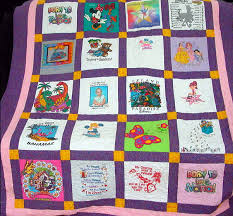 T-Shirt Quilts by Nana's Quilting » » Kayla's T-Shirt Quilt & A quilt made from Nana's granddaughter's baby tees Adamdwight.com