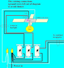 fan and light switch wiring ceiling fan remote conversion original connections exhaust fan light switch wiring